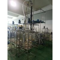 Double Glass Reactor for hemp/Chemical Laboratory Medicine Research and Development Double-Layer Jacketed Glass Reactor