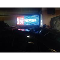 3G 4G Taxi Roof Led Display / Led Screen For Taxi Top Sign Advertising 25 kg