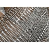Ferrule SS Zoo Aviary Mesh Netting 1.6mm Wire Diameter Polished Surface