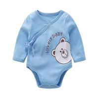 Embroidery 3D Printing Unisex Baby Wear Single long sleeve Bodysuit With Screen Prints
