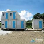 Flat Pack Prefabricated Container Houses WIth High Construction Efficiency