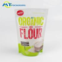 Moisture Proof Snack Packaging Bags Customized Thickness For Rice Flour