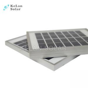 China Waterproof OutdoorPersonal Solar PanelMinimizes 5 Watt For Remote Power Supply supplier