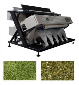 LED Optical Chickpea Bean Color Sorter Machine at 0.6Mpa For Agriculture