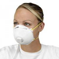 Non Woven Activated Carbon Respirator N95 , Carbon Filter Dust MaskWith Valve