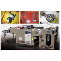 silk screen printing clothing labels linear touch high precision imported parts inverter control PLC