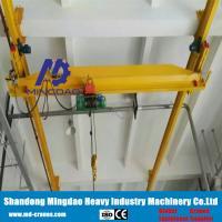China Factory Direct Supplied 10 ton Under Running Single Girder Bridge Crane with Low Price