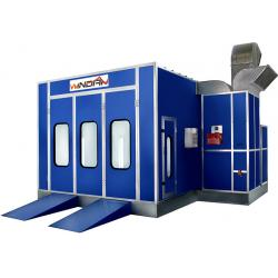 China Car Maintenance, Painting, Auto Spray Booth With Exhaust fan and intake fan WD-20 on sale