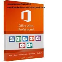 Microsoft Office 2016 Professional Pro PKC key card online activate