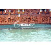 Funny Surf water park tsunami wave pool pneumatic wave generation for big water pool