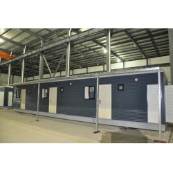 China Combination Prefabricated Light Steel Prefab House / Durable Modular House on sale