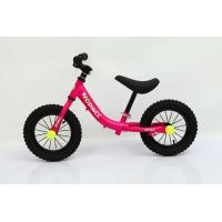 No-Pedal 12 High Carbon Steel Children Balance Bike Walking Bike With Leather Saddle