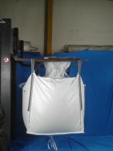 Food Grade pp 1 Ton Bulk Bags FIBC bag for Dyes / Bean / Coffee