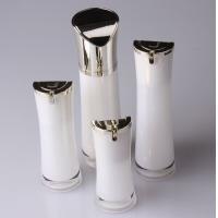 Slim Waist Baby Skin Lightening Lotion Acrylic Bottle, Acrylic Airless Bottle For Emulsion