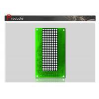 Dot Matrix Display Panel , Elevator LCD Display Green 132 X 70mm SN-DPC2