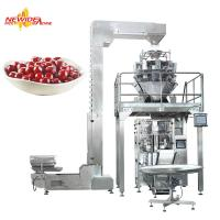 CE Marked Auto Vertical Granule Packaging Machine For Frozen Foods