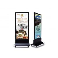 Backlit Illuminated Magnetic LED Light Box Display Stand For Outdoor Advertising