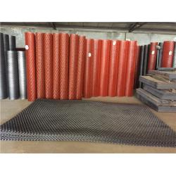 China Size Customized Expanded Metal Mesh Anti Ski Steel Diamond Mesh For Walkway on sale