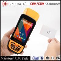 2D Symbol Outdoor Barcode Scanner , Mobile Rfid Reader Mid rang 10cm