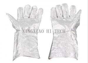 High Temperature Resistant Firefighter Structural Gloves Flame Resistant / Retardant