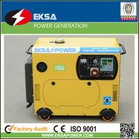 5kw home silent diesel generator sets colourful designed with AMF & ATS function