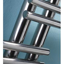 China Brushed Heated Towel Radiators Round Tube Wall Mounted For Shower on sale