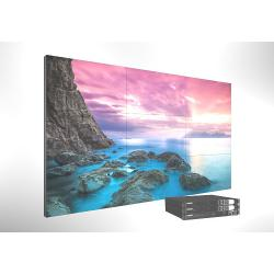 China 55 Inch Ultra Narrow 1.7mm Bezel LCD Video Wall 0.9mm FHD Large Screen Samsung Panel on sale