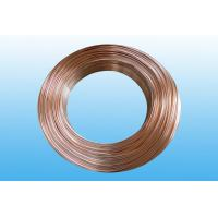 Steel Evaporator Tube 6.35 * 0.65 mm , Low Carbon Copper Coated