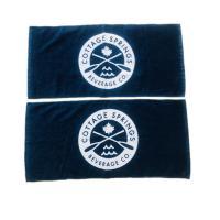 cheap hand towel cotton velour printing design face towel custom logo