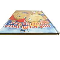 Colorful Hardcover Kid Fancy Cartoon Comic Book Printing With Anti-tearing Material