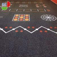 Anti Slip Gym Room Rubber Flooring Rolls 1.22*10m Environmentally Friendly