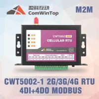 CWT5110 Wireless Modbus RTU GPRS I O Module With 4 Di 4Do Environmental Monitoring