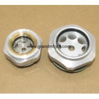 Metric thread M16 M27 M33 M36 M42 air compressor Oil level indicator sight glass custom available