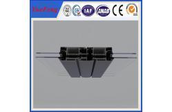 China 6060 ventanas de la protuberancia de la capa del polvo t5 y perfiles de aluminio del aluminio de las puertas proveedor