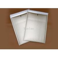 White Light Shield Bubble Cushioned Mailers , Anti Rub Bubble Wrap Envelopes