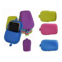 Rohs /  Mixed Silicone Coin Purse and Rubber Pochi Mobile Phone Bag