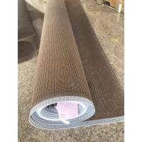 PTFE  coated open mesh conveyor belt1*1mm  high temperature resistan