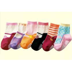 China cotton no skid baby socks on sale