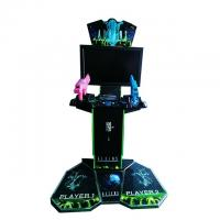Exciting Shooting Arcade Machine Alien 2 Metal And Acrylic Material