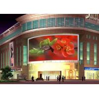 HD P10 Outdoor Full Color LED Display Board  Stadium Led Video Screen 9000 Nits with 960*960mm iron cabinets