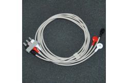 China Cable original del leadwire del ecg de la ventaja de Philips 3, M1605A, extremo rápido, AHA proveedor