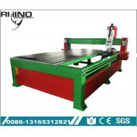 Rotary Attachment 1530 CNC Router Machine 4 Axis With 4.5KW Air Cooling Spindle