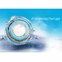 IP68 Wall Mounted RGB LED Swimming Pool Light / Outdoor LED Pond  Lamp