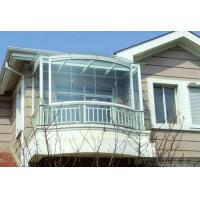 12mm Decorative Curved Tempered Glass Clear / Tinted For Architectural Windows