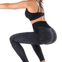 Women's Push Up Nylon Lycra Seamless Custom Logo Sport Yoga Bra & Pants