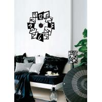 Modern Vinyl Wall Sticker Clock For Home Decoration 10A097