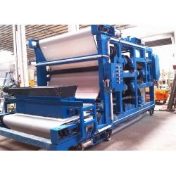 China High Pressure Belt Filter Presses For Grains Dewatering , Brewery Plant on sale