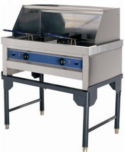 Electric Fryer ( Stand type Double tank 21+21liter )
