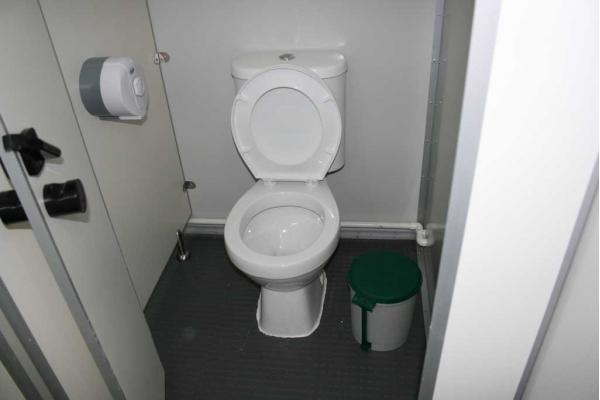 Туалет из сэндвич панелей