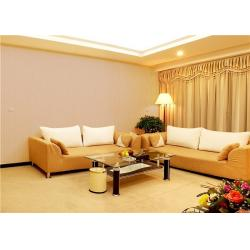 China White / Beige Home Decor Wallpape , Sofa Background Velvet Textured Wallpaper on sale
